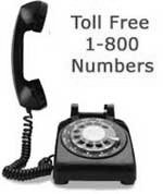 Toll free phone numbers 855